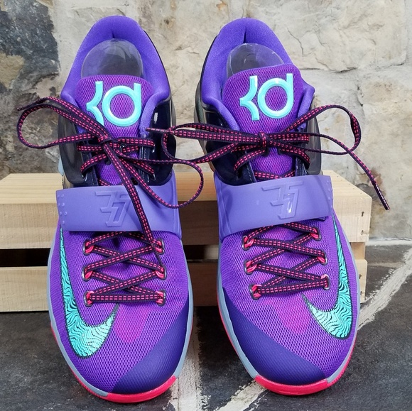 claridad Organizar Medalla  Nike Shoes   Nike Kd 7 2 Mens Lightning 534 Cave Purple Shoes   Poshmark